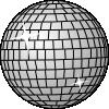 free vector Disco Ball clip art 111583