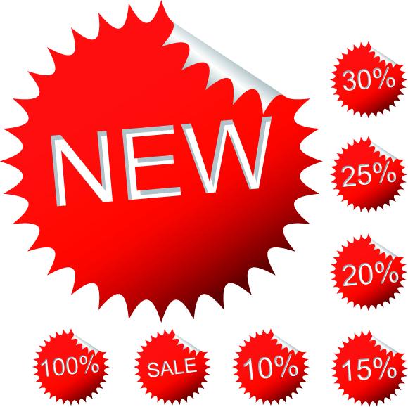 free vector Discount sales vector