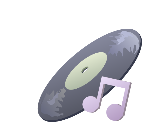 free vector Disk Music clip art