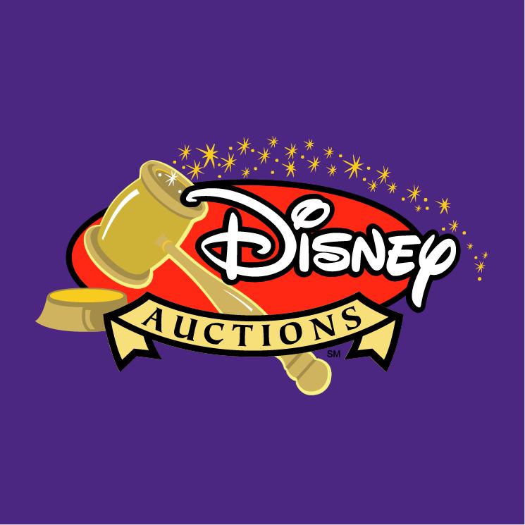 free vector Disney auctions