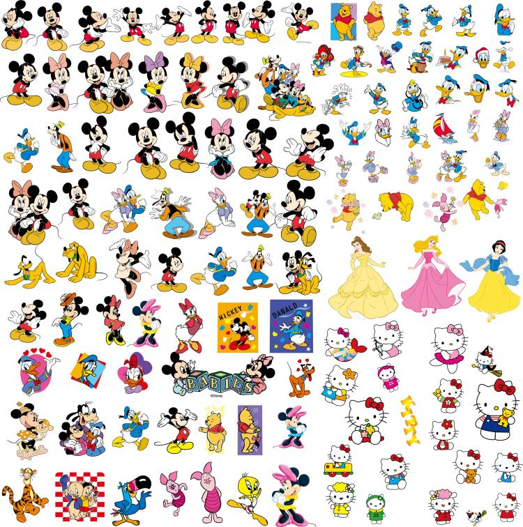 disney cartoon clip art collection free vector 4vector rh 4vector com clipart collection cd clipart collection cd