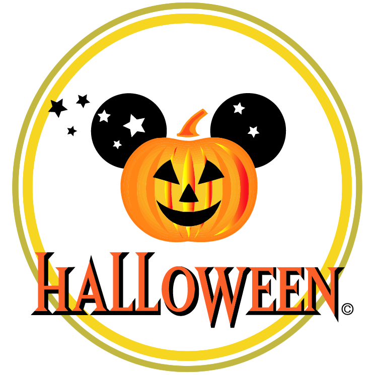Disney halloween Free Vector / 4Vector