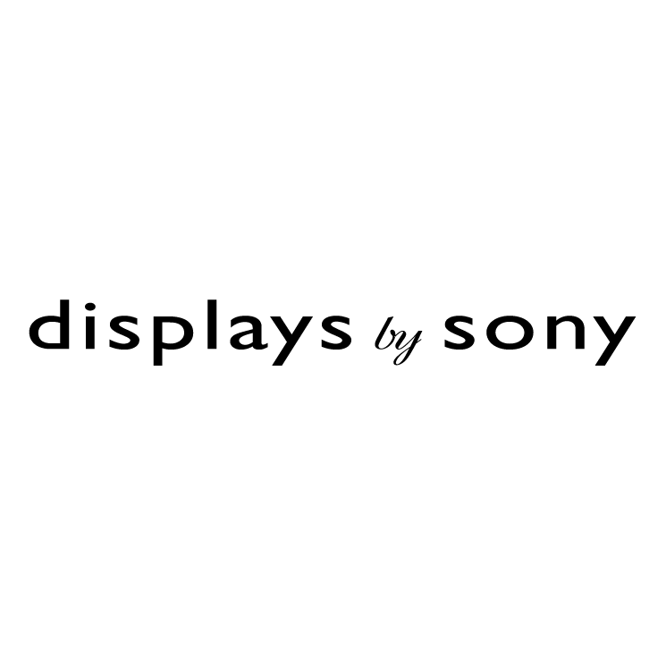 free vector Display by sony