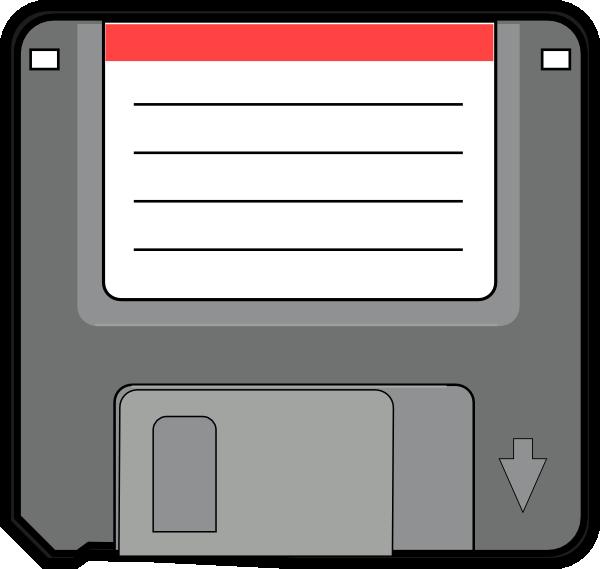 free vector Disquete clip art