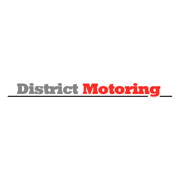 free vector District motoring