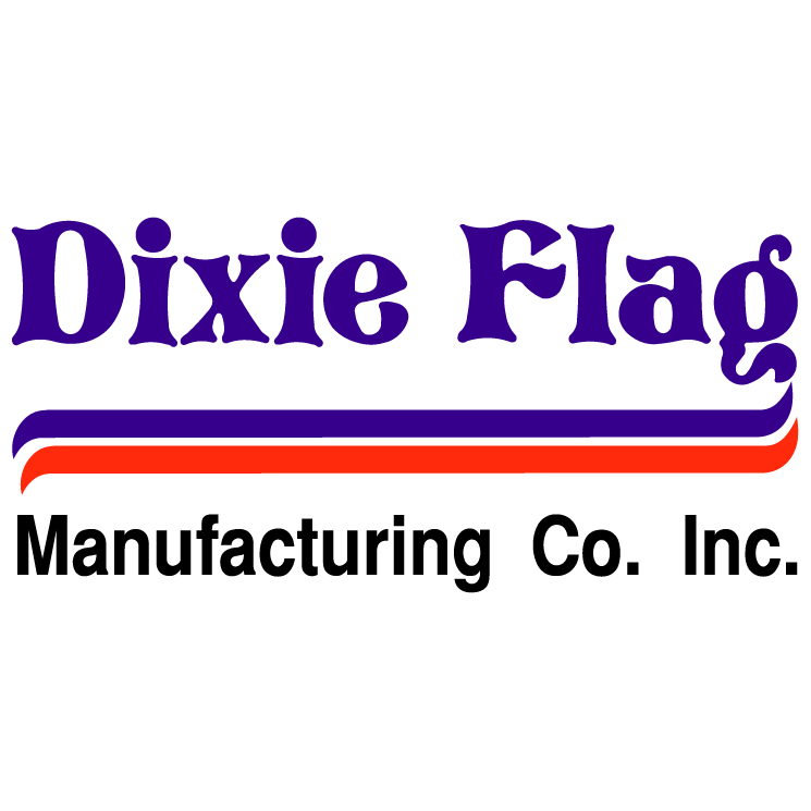 free vector Dixie flag manufacturing