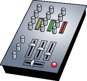 free vector Dj Audio Mixer clip art