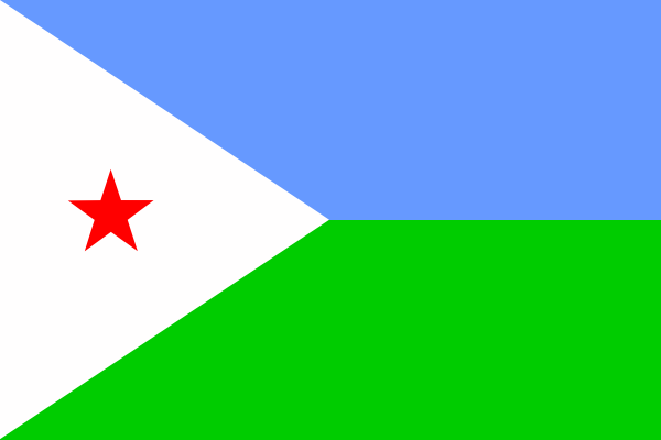 free vector Djibouti Flag clip art
