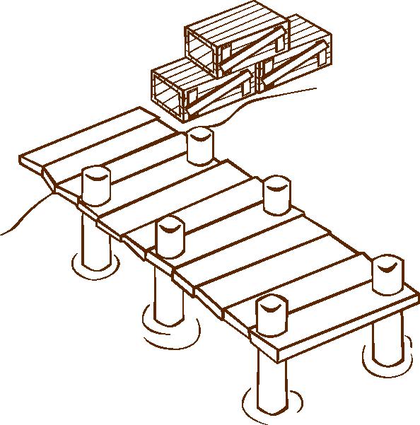 docks clip art free vector    4vector