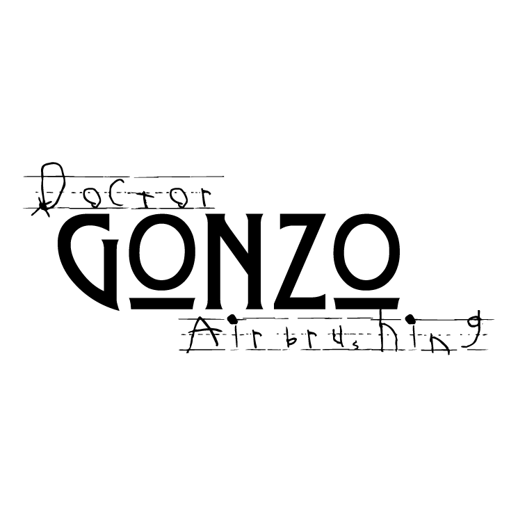 free vector Doctor gonzo airbrushing