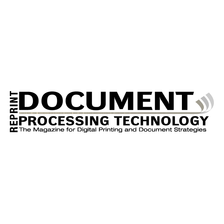 free vector Document processing technology