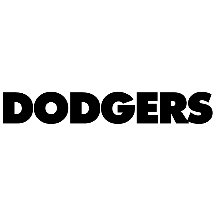 free vector Dodgers