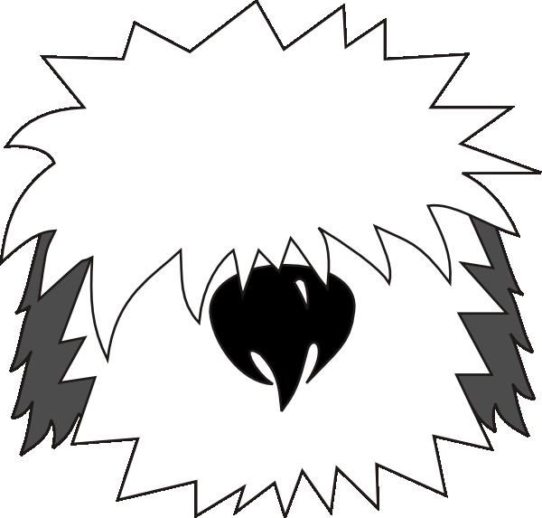 free vector Dog Bobtail clip art