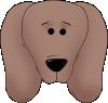 free vector Dog Face clip art