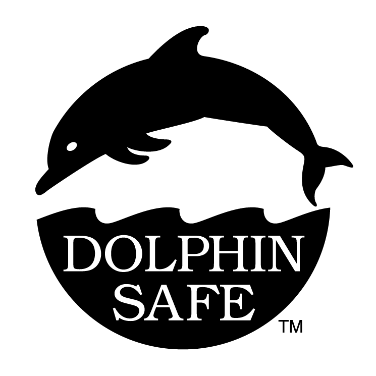 free vector Dolphin safe