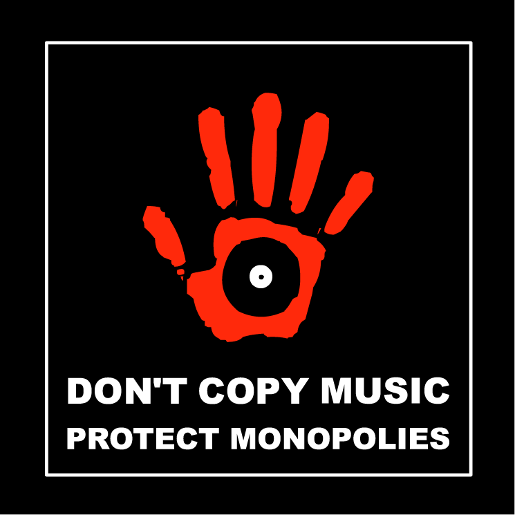 free vector Dont copy music 0