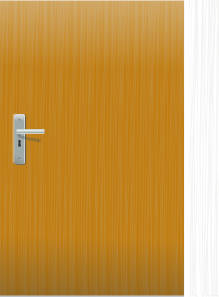free vector Door  clip art