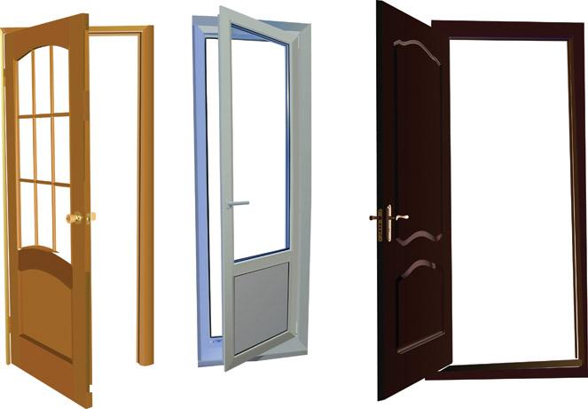 Screen Door Clip Art : Door security vector free