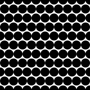 free vector Dots Offset Radius 5 Pattern clip art
