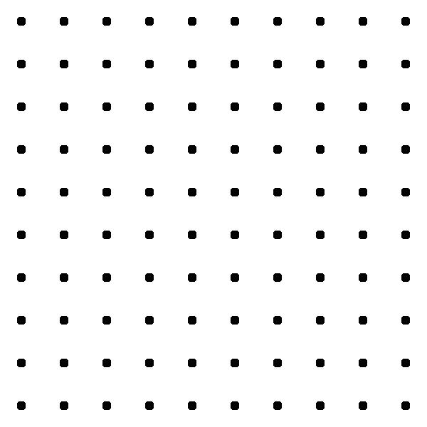 Dots Square Grid Pattern clip art (105419) Free SVG Download