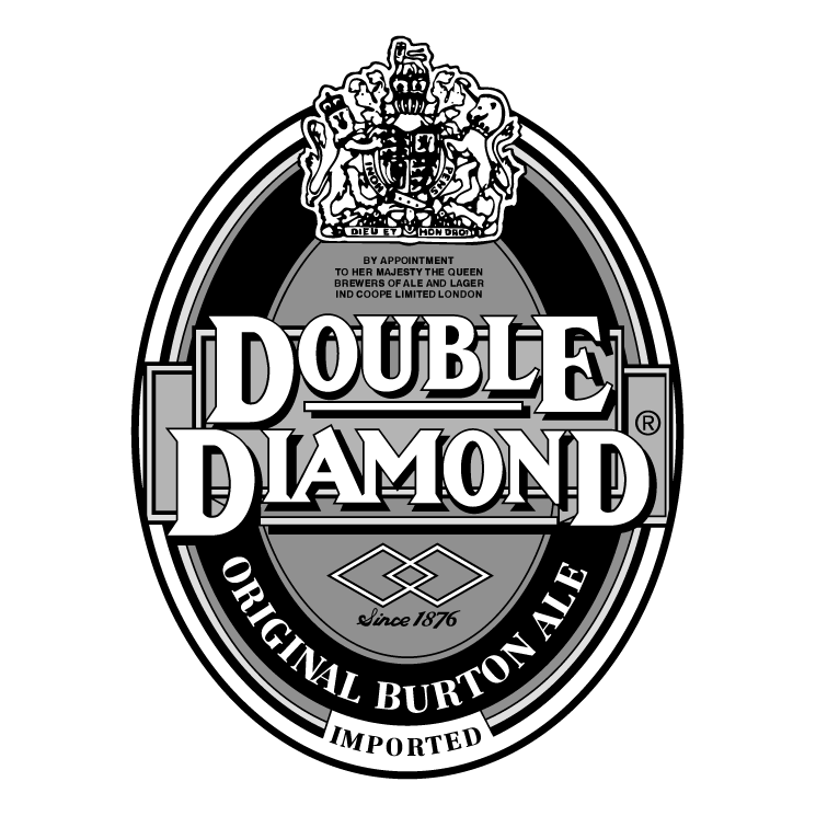 free vector Double diamond