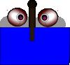 free vector Double Eye clip art