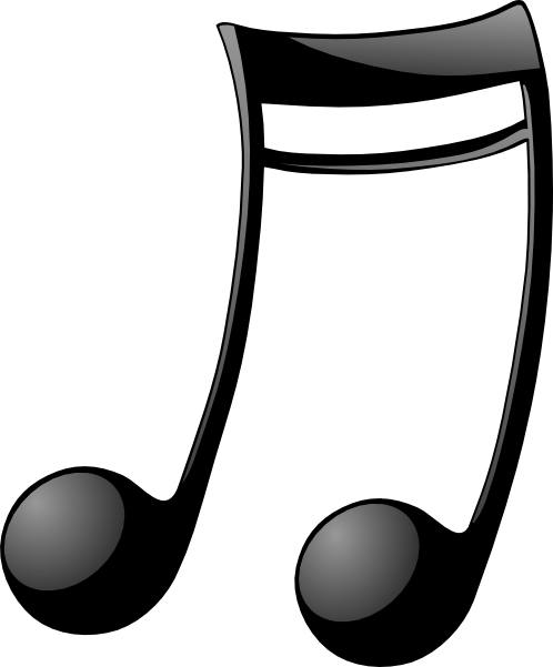 free vector Double_note_two clip art