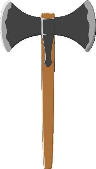 free vector Double Tranchant Axe clip art
