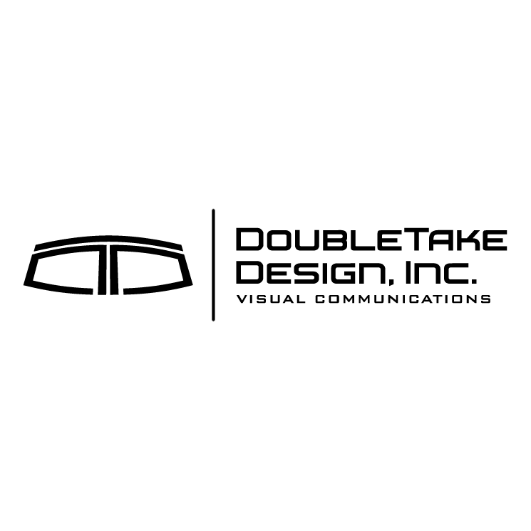 free vector Doubletake design