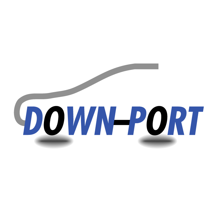 free vector Down port