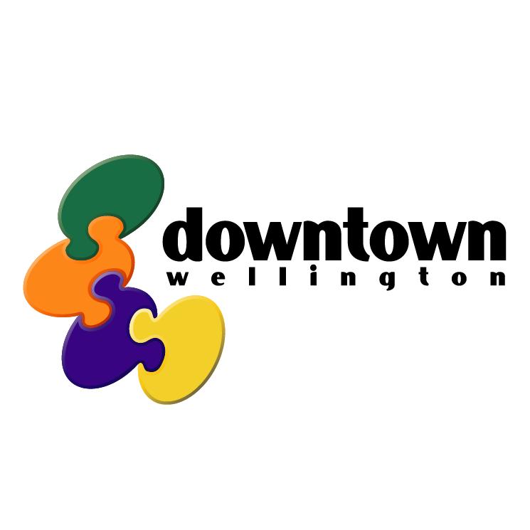 free vector Downtown wellington