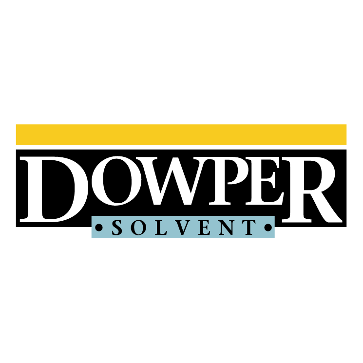 free vector Dowper solvent