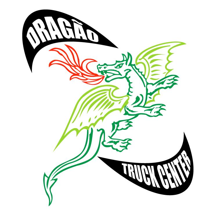 free vector Dragao truck center