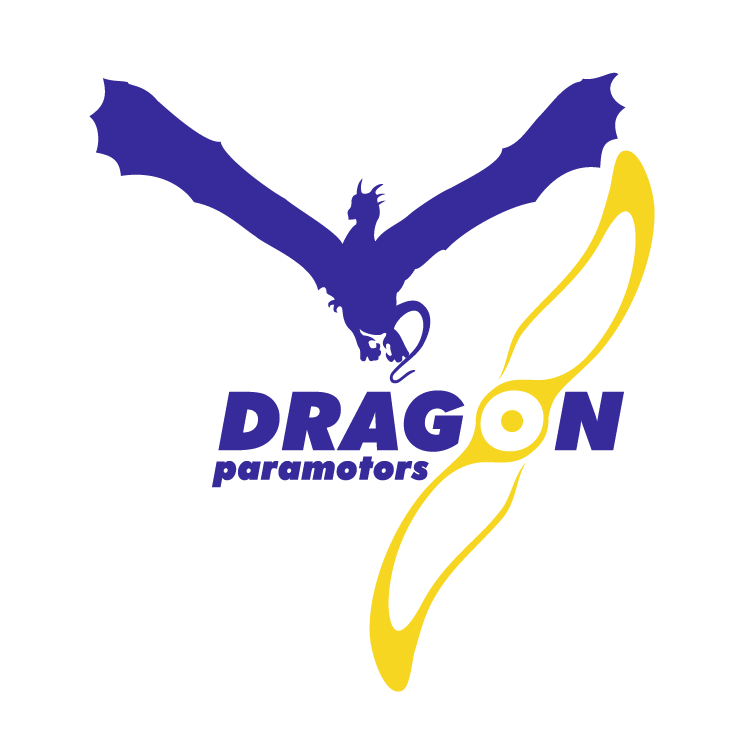free vector Dragon paramotors