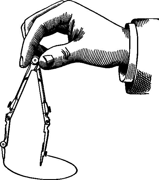 free vector Drawing A Circle clip art
