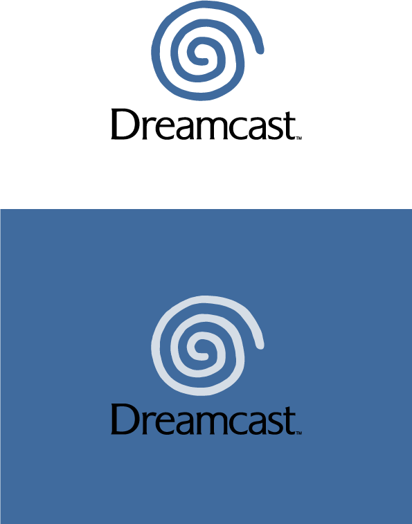free vector Dream Cast logo