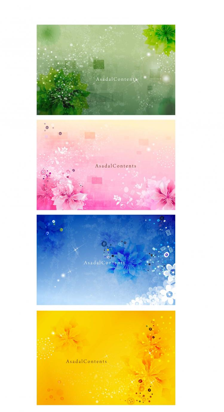 free vector Dream cool background pattern