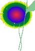free vector Dream Flower clip art