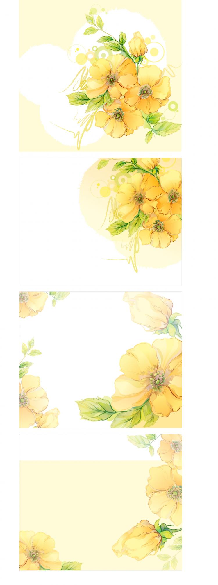 free vector Dream flowers vector 6