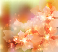 free vector Dream flowers vector background 5