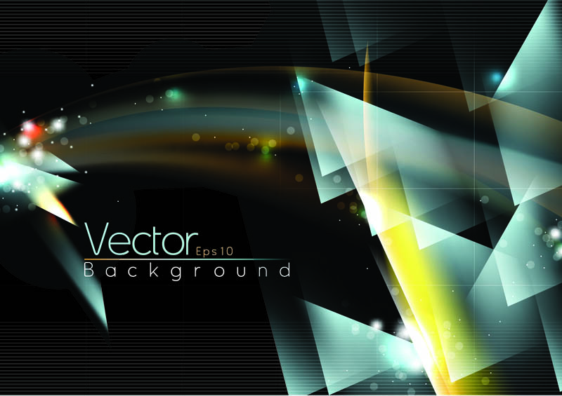 free vector Dream halo background vector