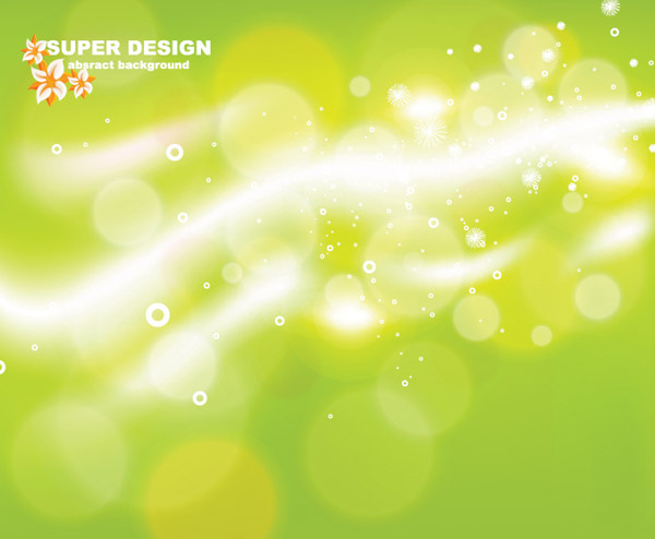 free vector Dream of light vector background