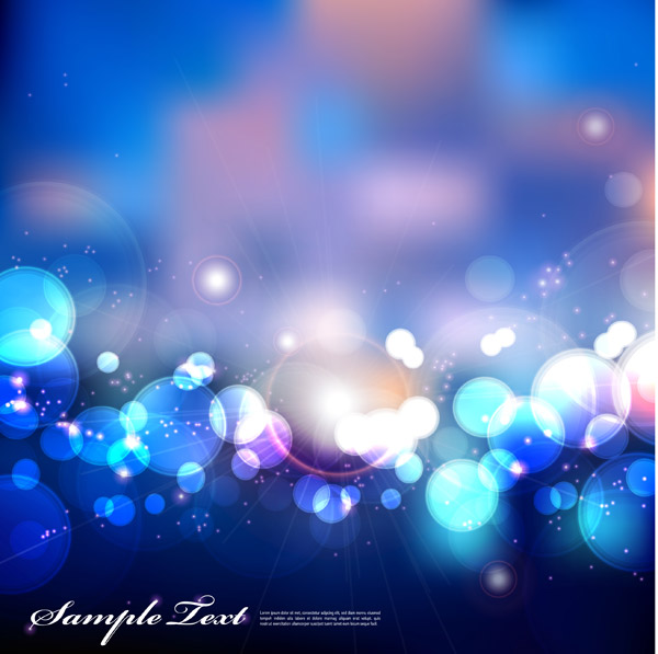 free vector Dream of light vector