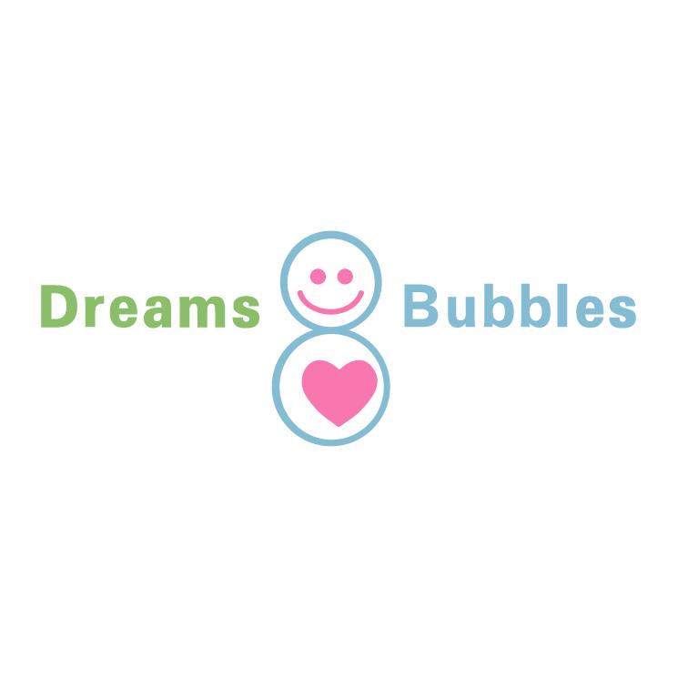 free vector Dreams bubbles