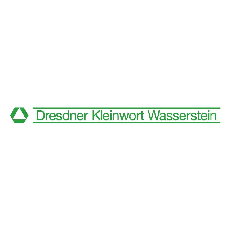 free vector Dresdner kleinwort wasserstein