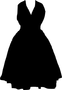 free vector Dress clip art