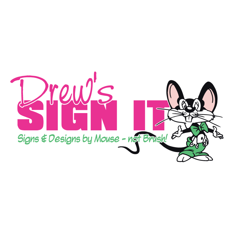 free vector Drews sign it 0