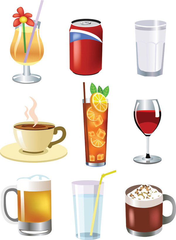 free vector Drink beer and other vector