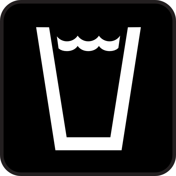 free vector Drink Beverage Map Sign clip art