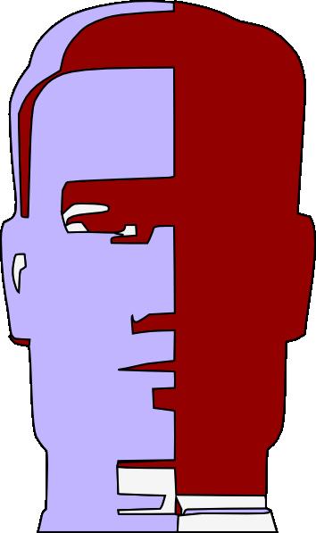 free vector Droid Robot Head Face clip art